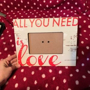 All You Need Is Love picture frame.